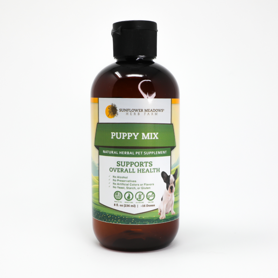 Sunflower Meadows Puppy Herbal Supplement